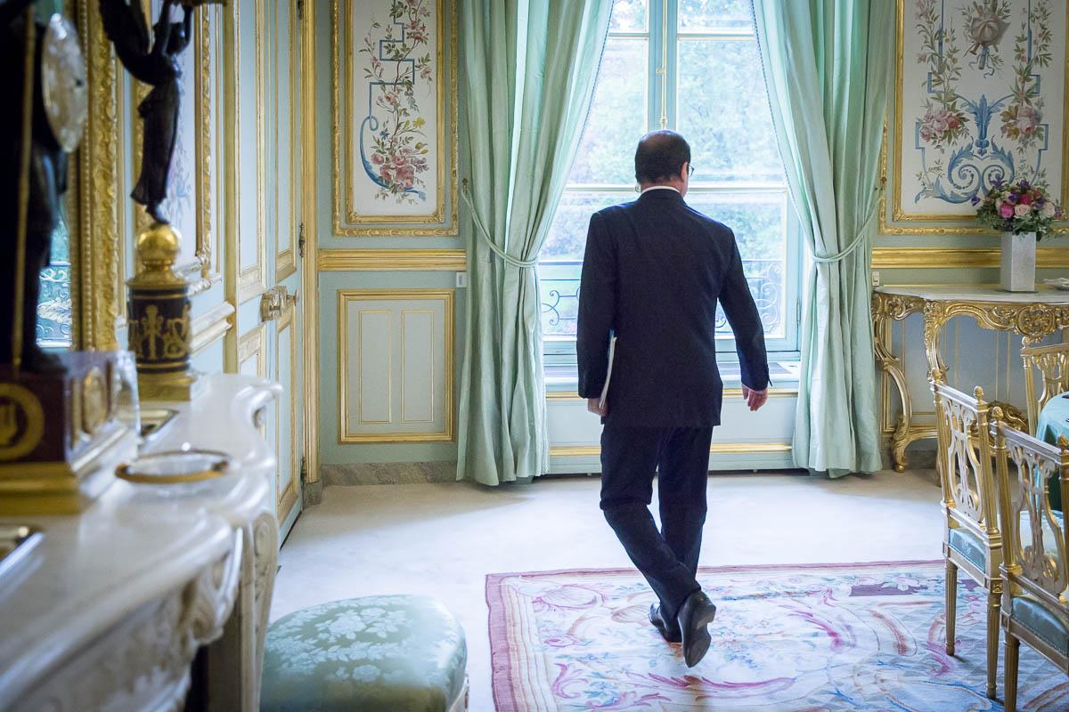 Sept jours à l'Élysée: épisode 01/03. Lundi 29 & mardi 30/09/2014