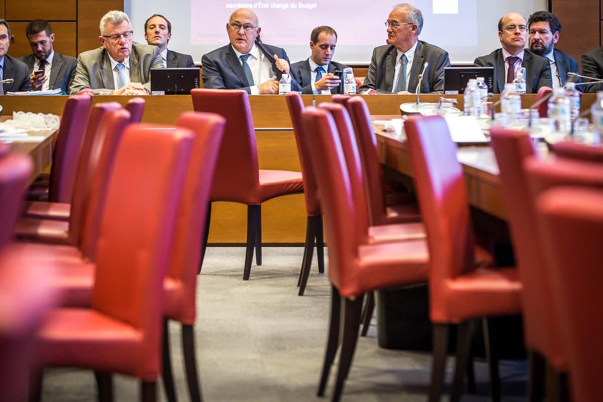 Un jour avec Michel Sapin, ministre des Finances, 30/09/2015