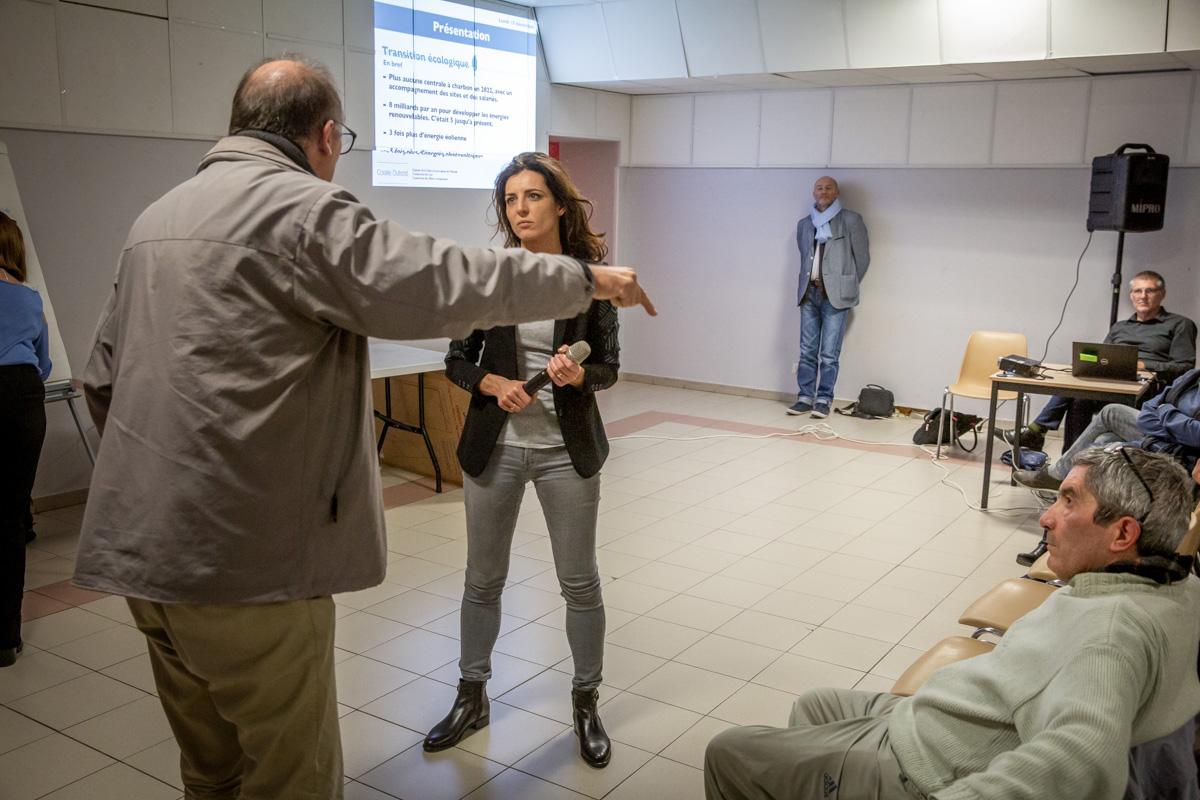 Un jour dans le vie de Coralie Dubost, députée LREM de l'Hérault, 10/12/2018