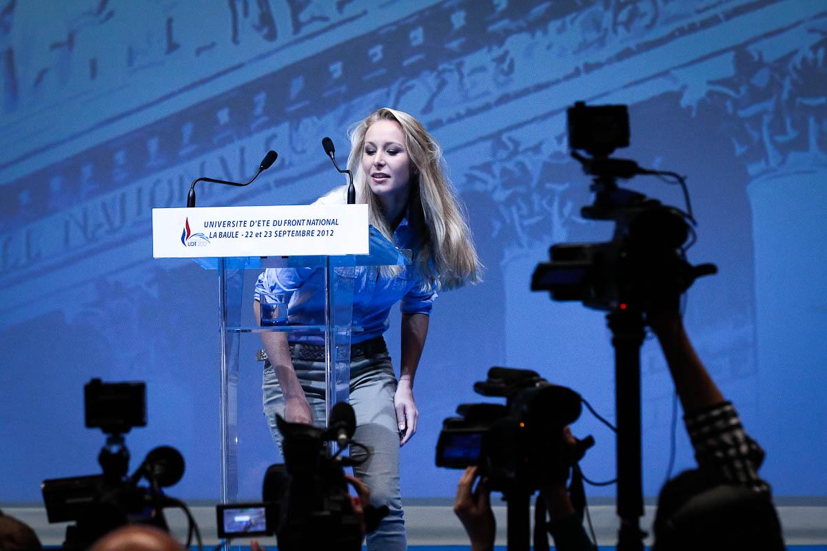 Université d'été du FN à La Baule, 22 et 23/09/2012