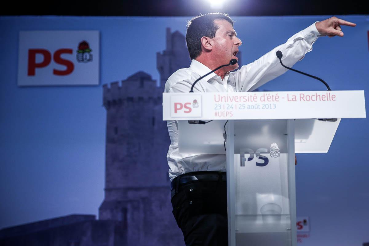 Université d'été du Parti socialiste, La Rochelle, 22 au 25/08/2013
