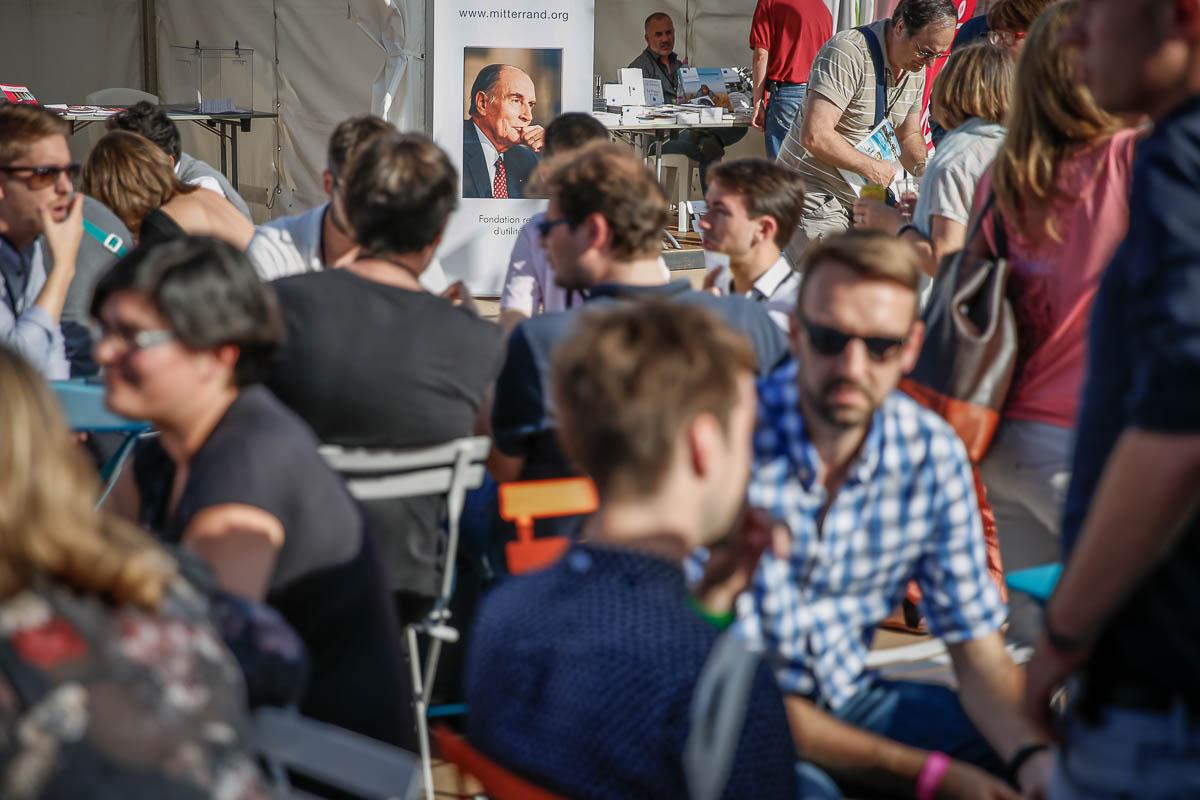 Université d'été du Parti socialiste à La Rochelle, Vendredi 29 août 2014 - 2014©Jean-Claude Coutausse / french-politics pour Le Monde