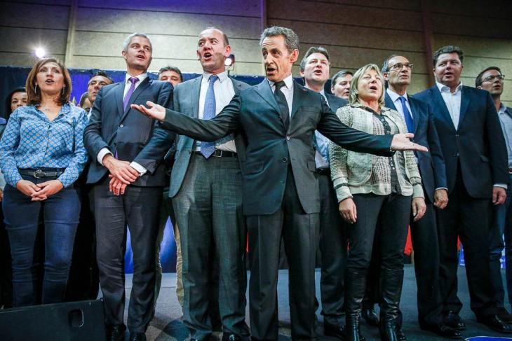 Premier-meeting-de-Nicolas-Sarkozy-en-campagne-pour-la-présidence-de-lUMP-à-Lambersart-Nord-Jeudi-26-septembre-2014-2014©Jean-Claude-Coutausse-french-politics-pour-Le-Monde