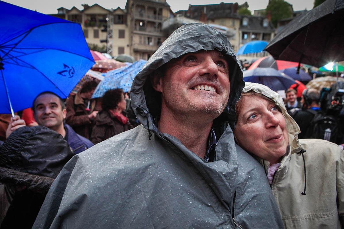 2ème tour de l'élection présidentielle à Tulle, 5 et 6/05/2012