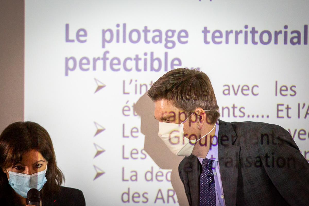 Anne Hidalgo à Rouen et Nancy, 11 et 19/02/2021