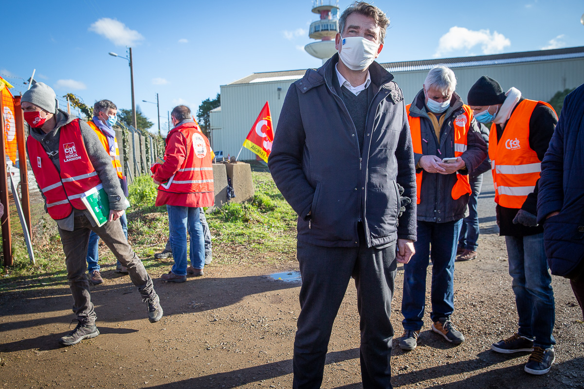 Arnaud Montebourg en Bretagne, 25 et 26/01/2021