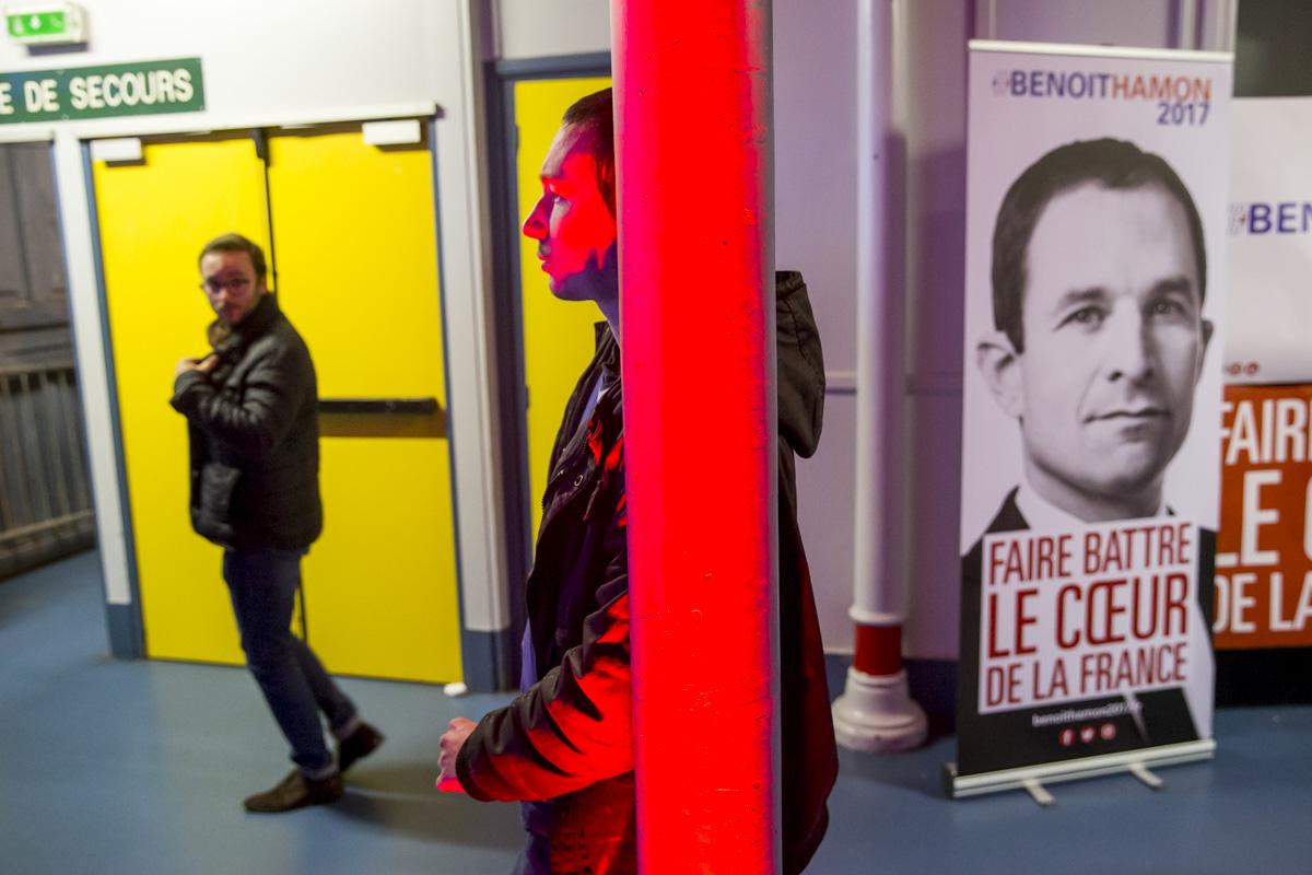 Benoît Hamon à Paris, 14/12/2016