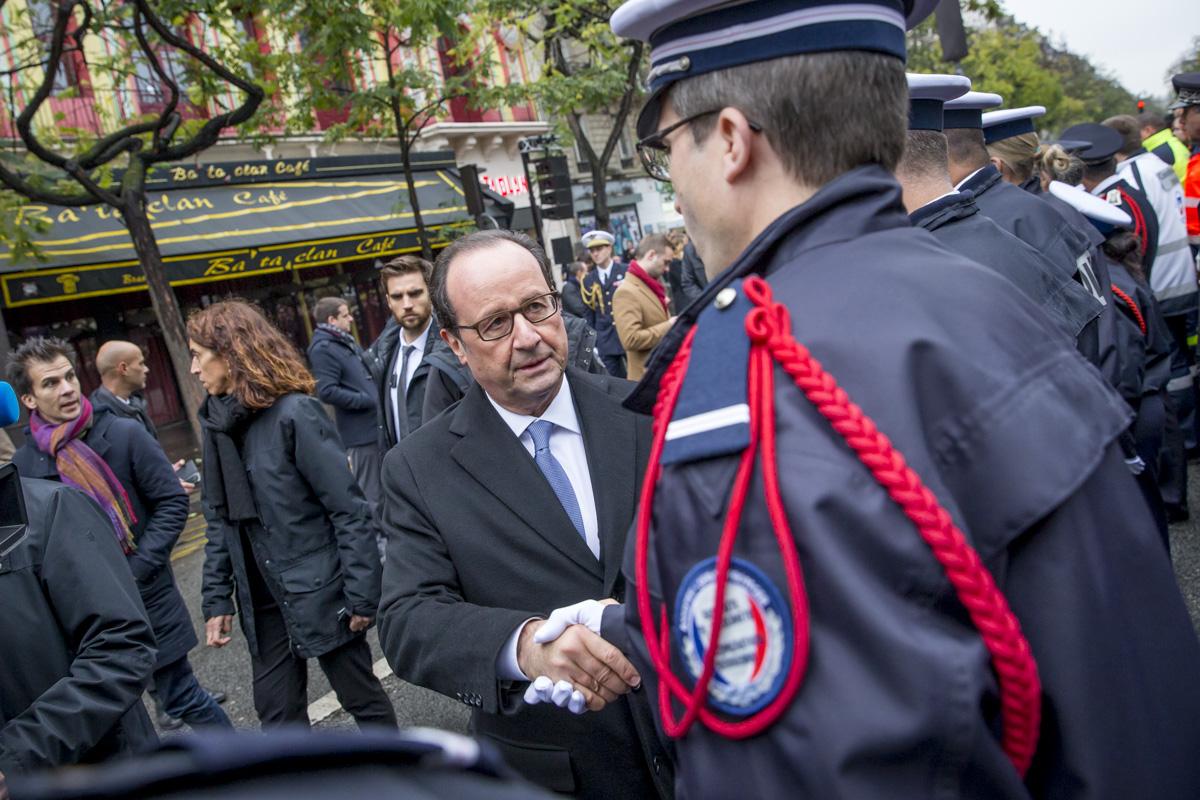 Commémoration des attentats du 13 novembre 2015, Paris, 13/11/2016