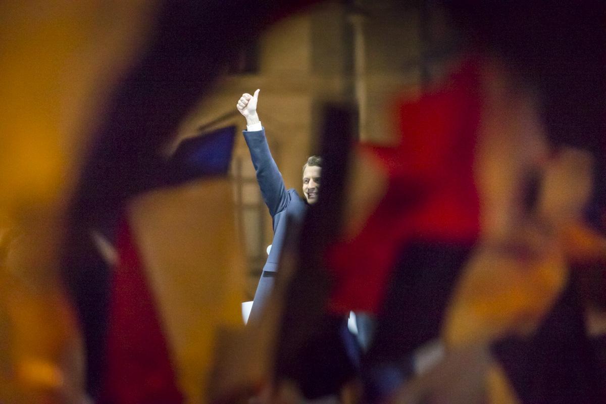 Emmanuel Macron, 2e tour de la présidentielle 2017, 7/05/2017