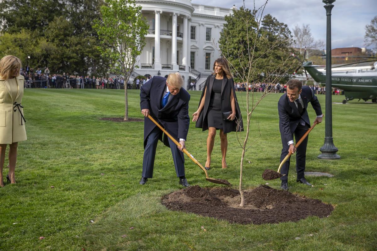 Emmanuel Macron à Washington DC, 23 au 25/04/2018