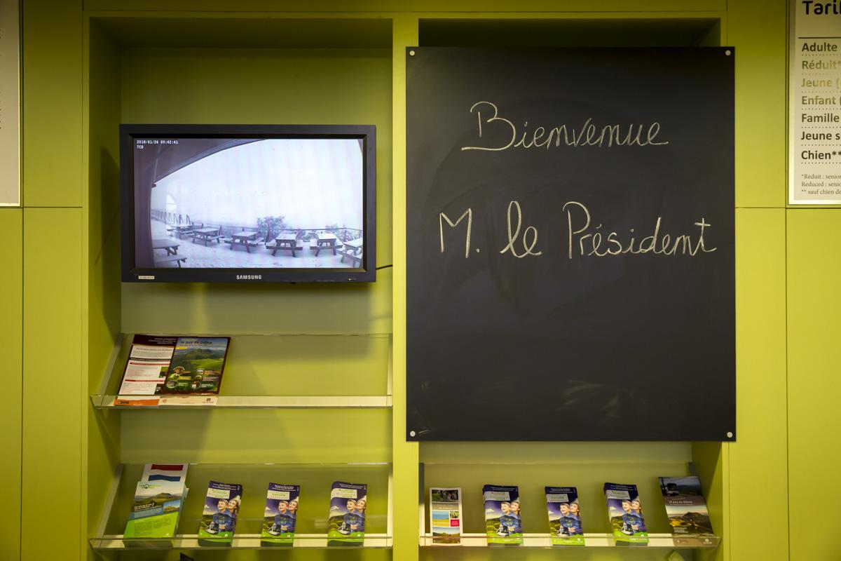 Emmanuel Macron en Auvergne, 25 et 26/01/2018