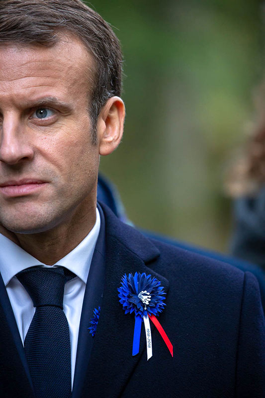 Emmanuel Macron, l'itinérance mémorielle, 4 au 10/11/2018