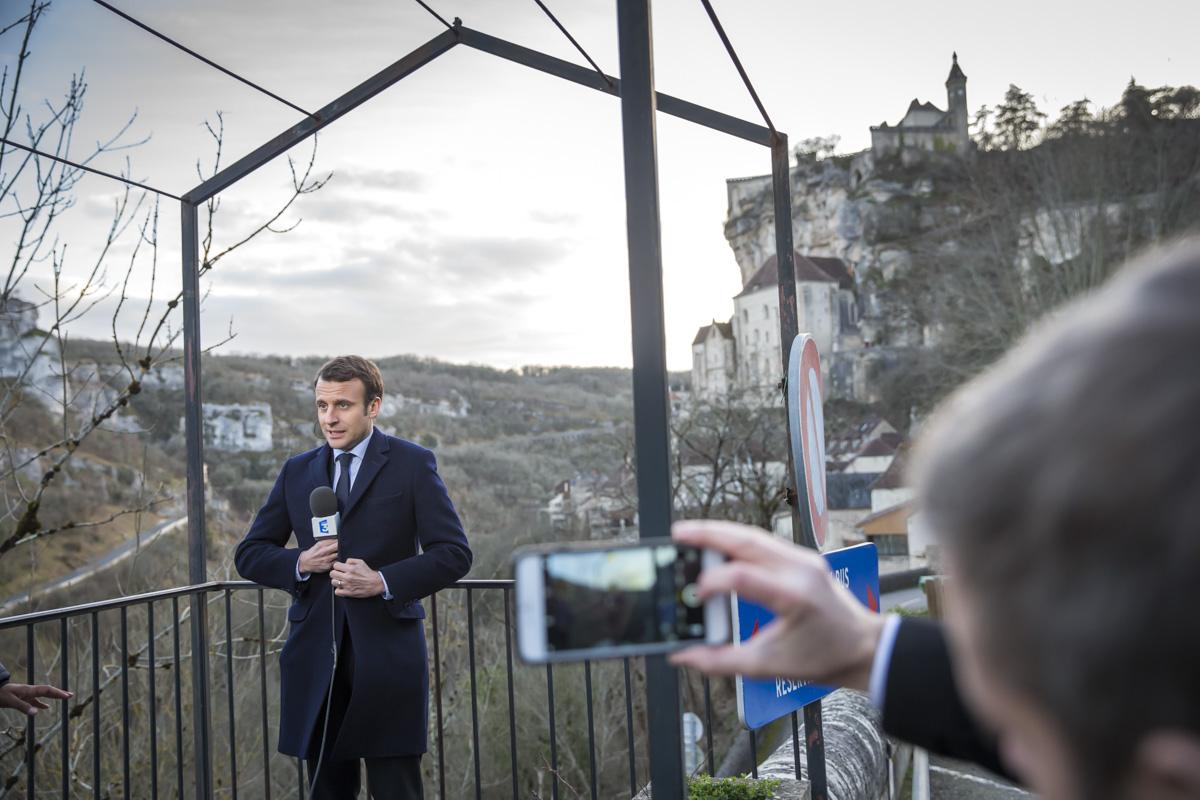 Emmanuel Macron, Lot, Corrèze et Haute-Vienne, 24 et 25/02/2017