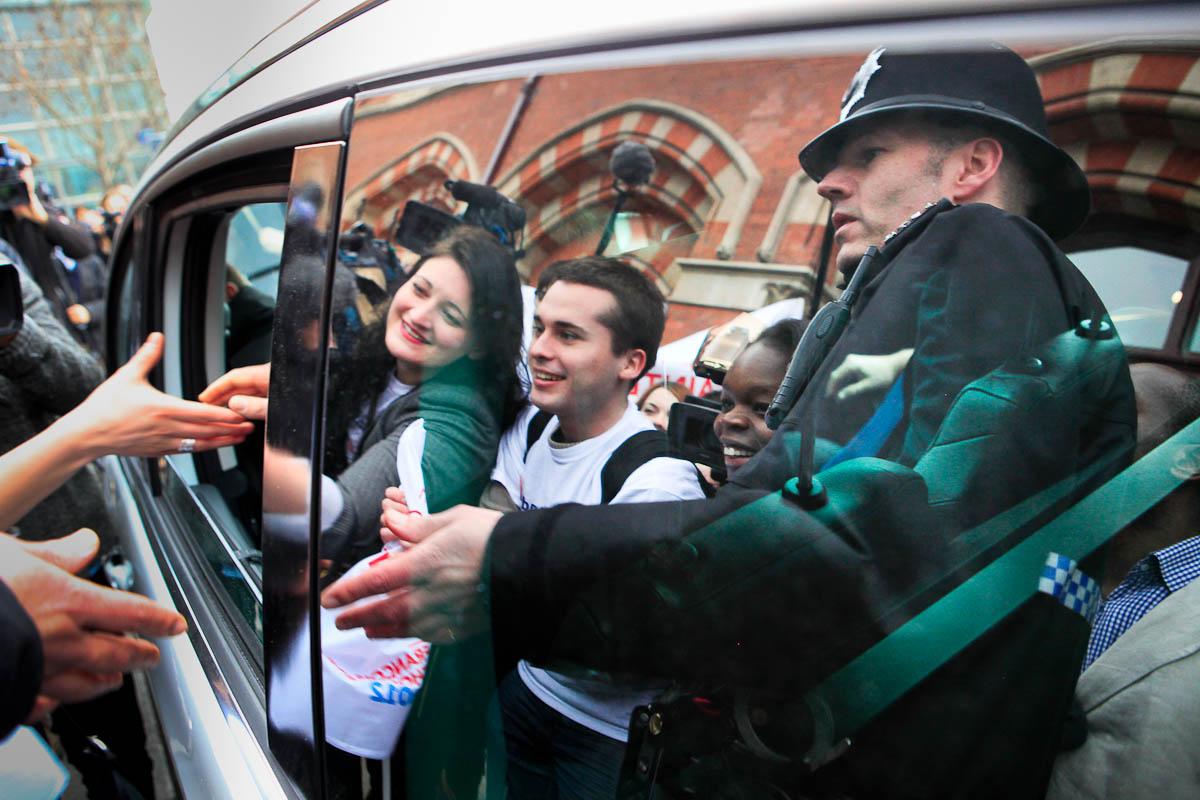 François Hollande à Londres, 29/02/2012