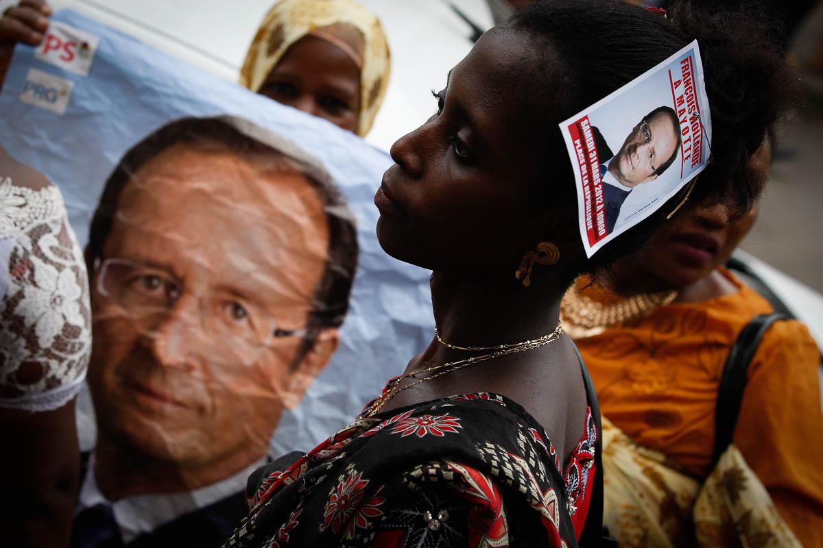 François Hollande à Mayotte, 31/03/2012