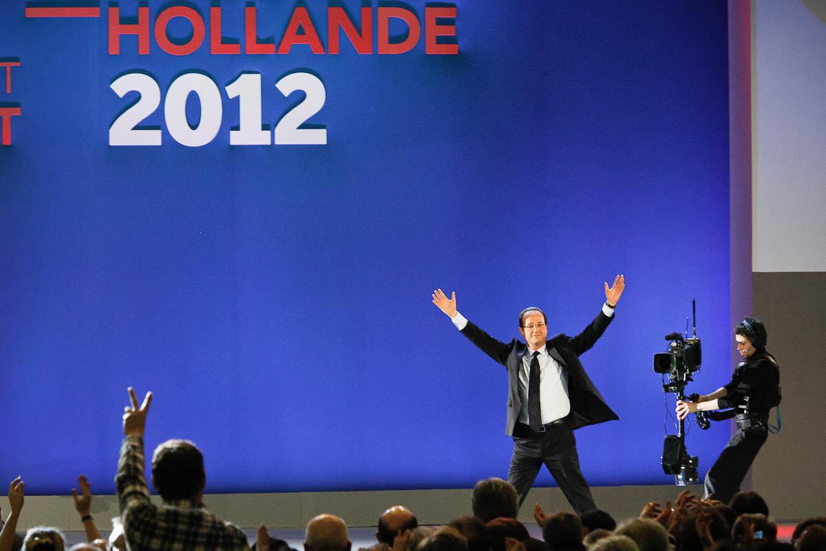 François Hollande, meeting du Bourget, 22/01/2012