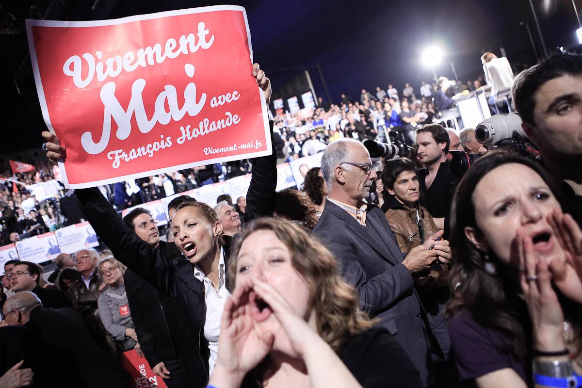François Hollande à Valence et Marseille, 13 et 14/03/2012