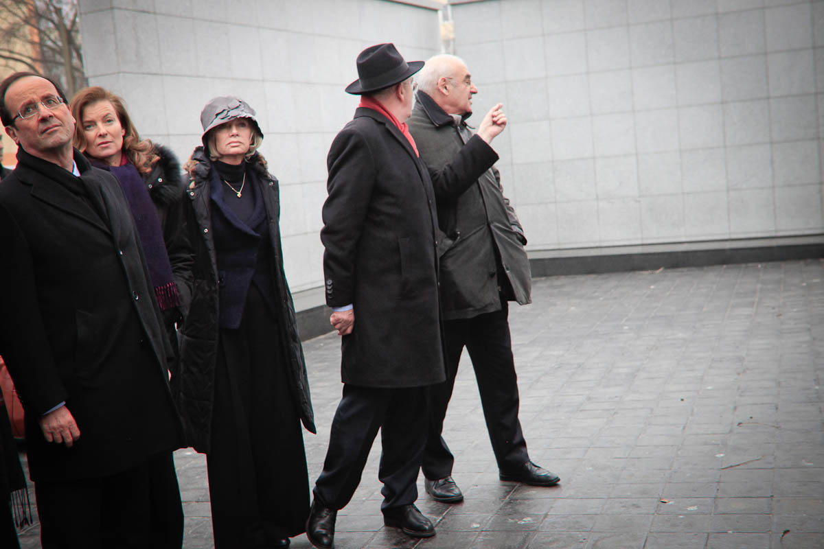 François Hollande à Varsovie, 9/03/2012