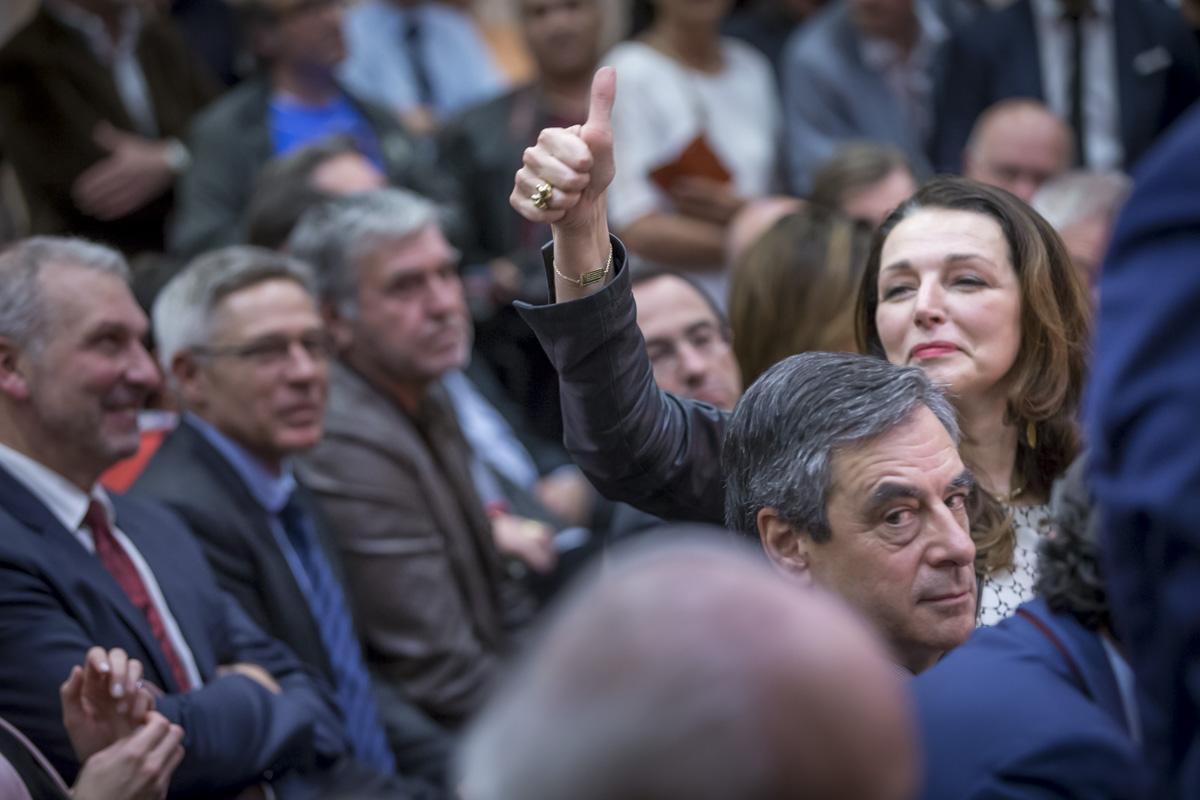 François Fillon à Pertuis, 15/03/2017