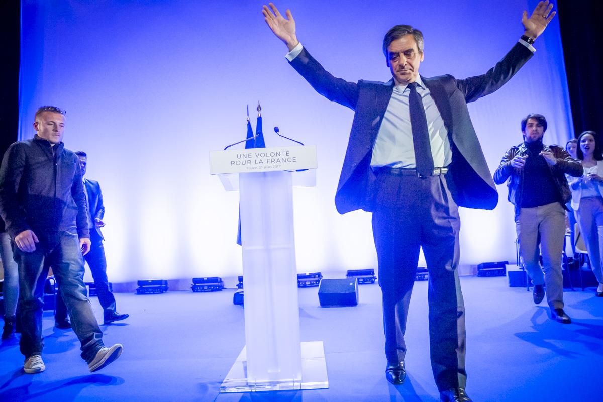 Francois Fillon à Toulon, 31/03/2017