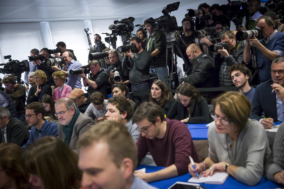 François Fillon, conférence de presse sur le Penelopegate, Paris, 6/02/2017