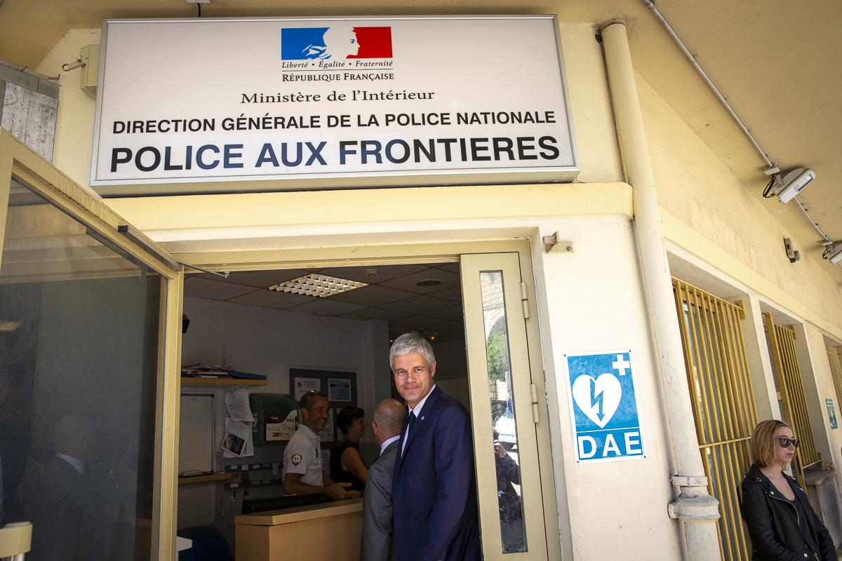 Laurent Wauquiez, Conseil national Les Républicains Menton, 29 et 30/06/2018