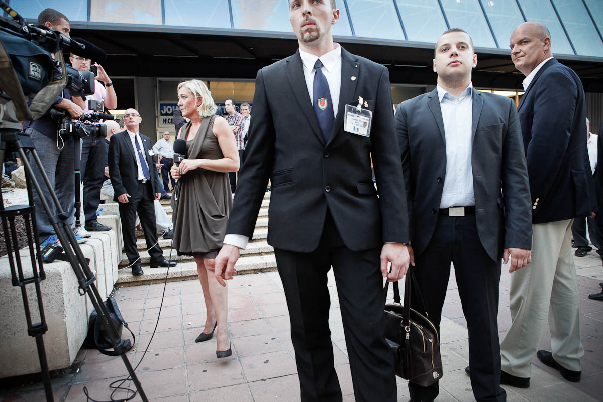 Les journées d'été du FN, Nice, 9 au 11/09/2011