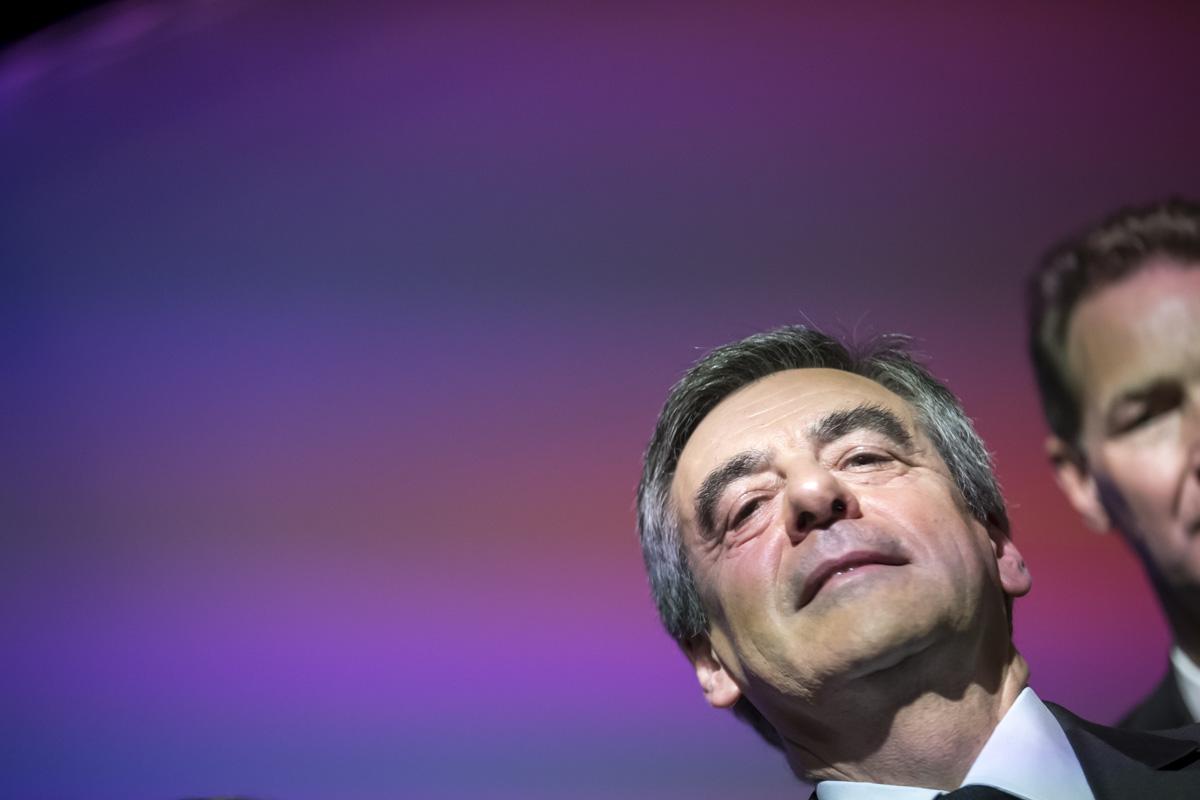 Macron à Pau, Fillon à Toulouse, 12 et 13/04/2107
