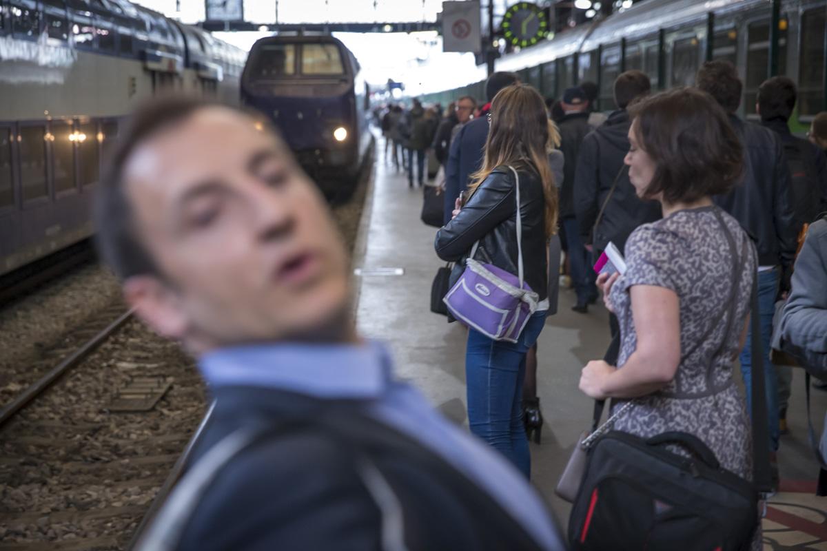 Réforme de la SNCF #6: Les usagers du Paris-Rouen-Paris, 2 et 3/05/2018