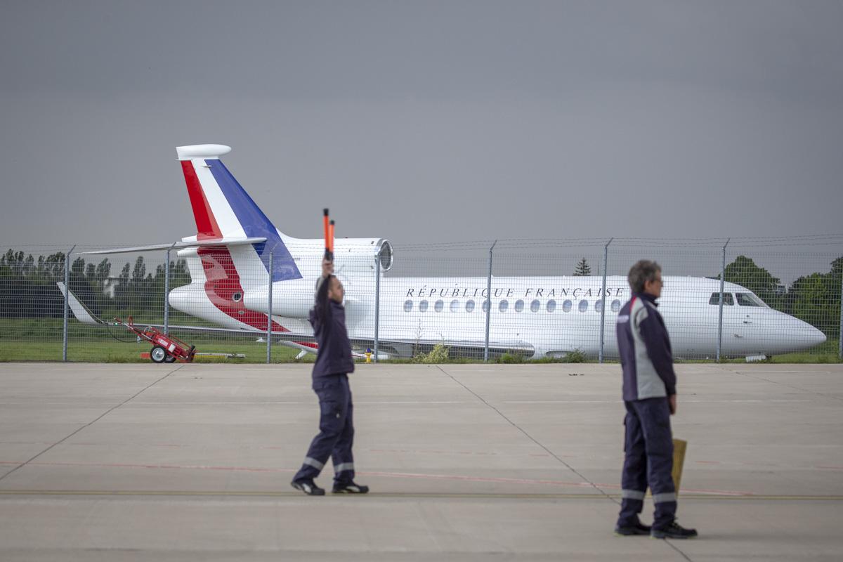 Retour des otages du nord-Burkina, Villacoublay, 11/05/2019