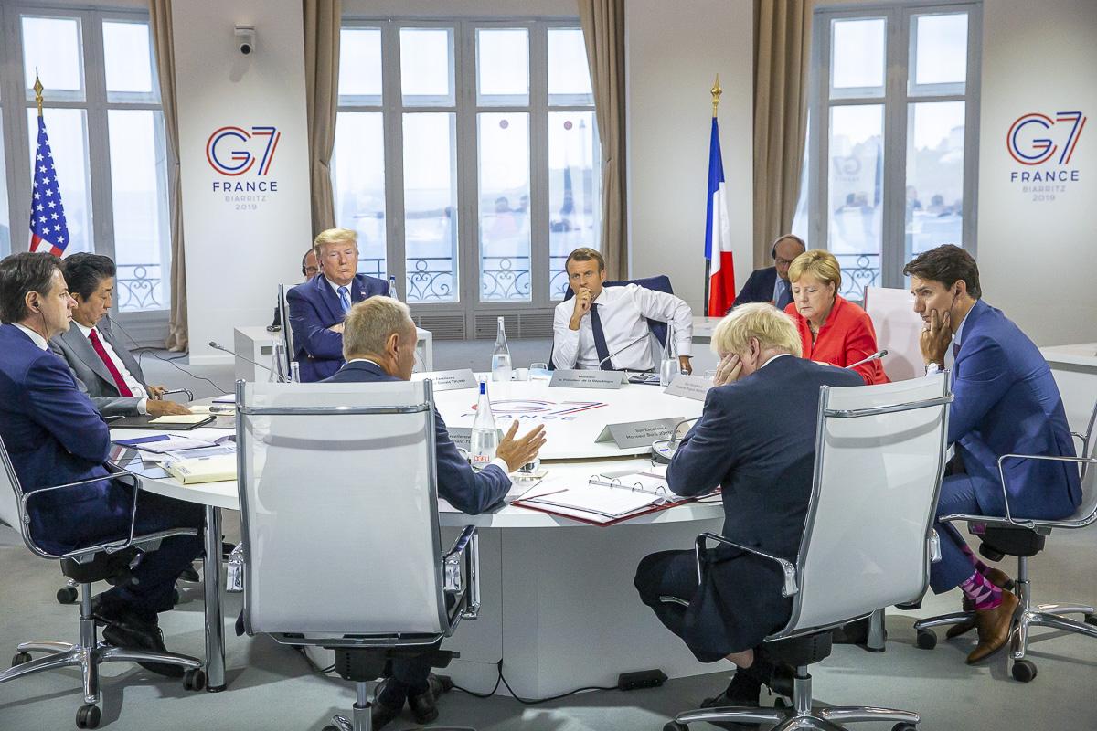 Réunion du G7, Biarritz, 23 au 26/08/2019