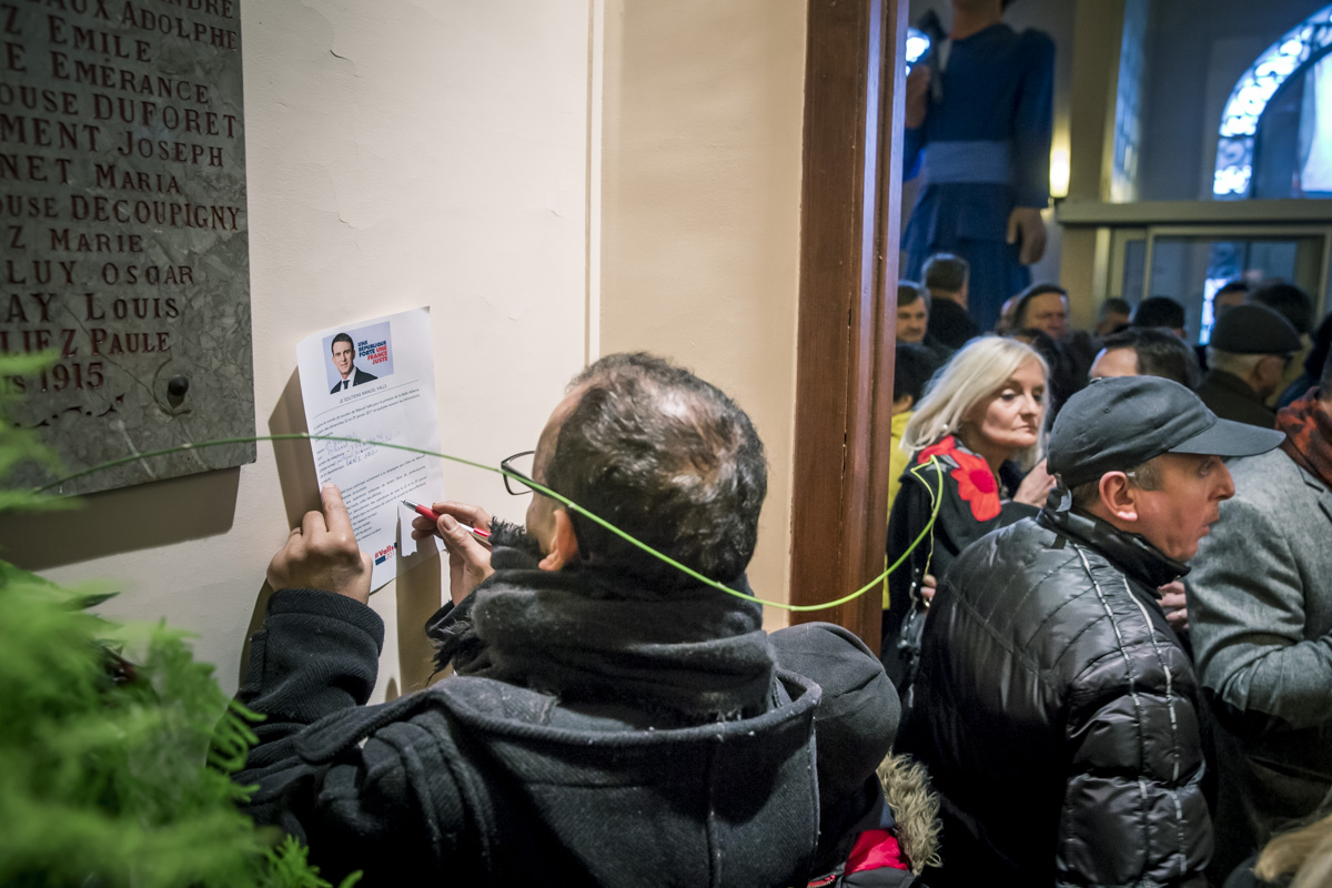 Valls à Liévin et Mélenchon à Tourcoing, 8/01/2017