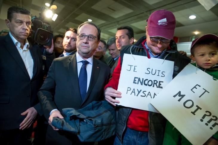 Fran ois hollande archives bains de foule for Hollande salon agriculture